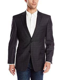 Tommy Hilfiger Men's Charcoal Windowpane Jacket  http://www.allmenstyle.com/tommy-hilfiger-mens-charcoal-windowpane-jacket-2/