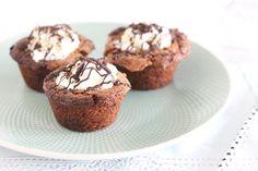 Chocolate chip cookie cups met ijs