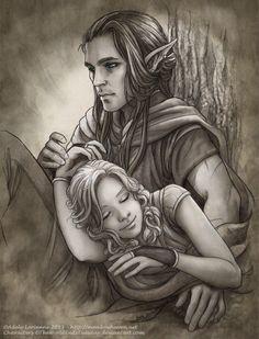Ray and Kari by Saimain on deviantART