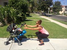 cross-fit moves to do with baby in tow