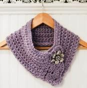 Crochet Pattern - Pretty Cowl / Scarf / Scarflette · Petals to Picots · Online Store Powered by Storenvy Crochet Scarves, Crochet Shawl, Free Crochet, Knit Crochet, Crochet Granny, Crochet Hood, Knit Cowl, Hand Crochet, Knitting Patterns