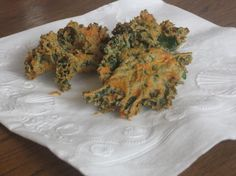 nacho kale chips...These are uber kid-friendly. They taste like Doritos. Yum, yum, yum!     Read more: http://www.food.com/recipe/nacho-kale-chips-461619#ixzz1V2EyxHx2