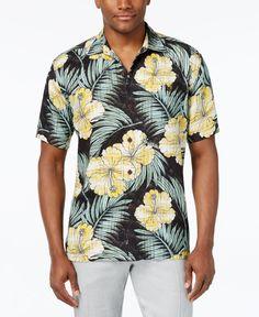 2e240632f2382 Tommy Bahama Men s Printed Hibiscus Shirt   Reviews - Casual Button-Down  Shirts - Men - Macy s