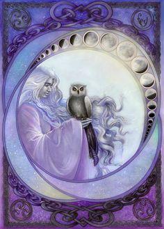 owl goddess moon cycle