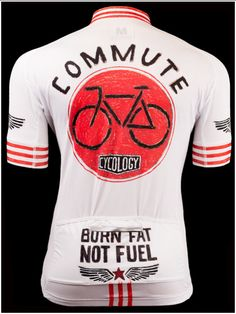 Burn Fat Not Fuel - Cool new jersey range from Cycology. All Italian fabrication. FREE SHIPPING WORLDWIDE. #Cycling jerseys
