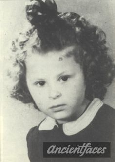 Let us never forget this beautiful girl with curly hair Ellen Henriette Lieblich who perished in Auschwitz on Aug. 28, 1942 at age 5.