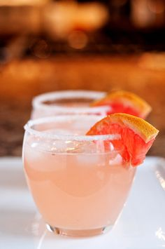 Try the Paloma for a refreshing Mexican cocktail with grapefruit and tequila!