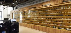 Loftová prodejna Megapixel Praha Holešovice / Industrial store in Prague Camera Shop, Wine Rack, Liquor Cabinet, Loft, Storage, Industrial Architecture, Shopping, Furniture, Prague