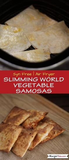 Syn Free Slimming World Vegetable Samosas - made with Weight Watchers Wraps these vegetable samosas are the perfect treat on Slimming World and also the perfect use of your leftover vegetable korma. Vegan Slimming World, Slimming World Recipes, Slimming Eats, Easy Appetizer Recipes, Healthy Recipes, Curry Recipes, Delicious Recipes, Weigt Watchers, Vegetable Samosa