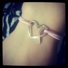 Pink Ribbon / Breast Cancer Awareness bracelet