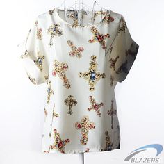 European and American plus size women clothing heart printing t shirt women short-sleeved women tops