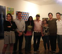 Danielle Nelisse and members of United Artists of San Diego exhibit at Dolphin & Hawk Art Gallery in La Jolla, California