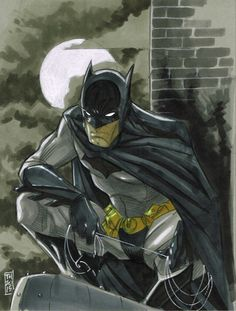 The Batman by Tom Hodges