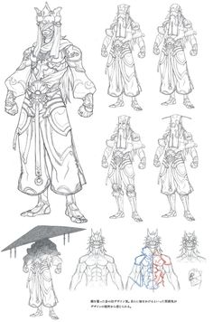 Fantasy Character Design, Character Concept, Character Art, Street Fighter Characters, Fantasy Characters, Asura's Wrath, Game Concept Art, Drawing Reference Poses, Sketch Design