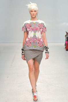 A Lily Picnic with an Ethnic Cuff. Keeper and Wearer!  Manish Arora Spring 2014 Ready-to-Wear Collection Slideshow on Style.com