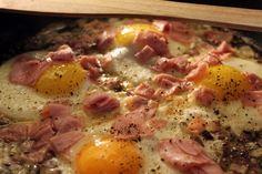 Cholesterolová snídaň.