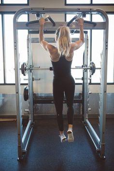 women's workout fitness inspiration motivation goals fitspo pull ups Sport Motivation, Fitness Motivation, Fitness Goals, Health Fitness, Exercise Motivation, Exercise Apps, Exercise Routines, Health Diet, Fitness Workouts