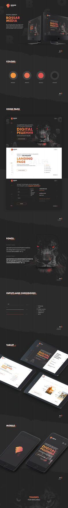 Bossar Media - Website