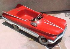 1960 Buick Pedal Car - Wow! How many of THESE are out there!!??  -sr