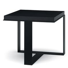 Masculin, Architectural..speaks good design....Christian Liaigre, Inc. Petrus Side Table