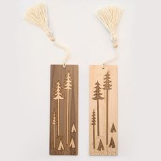BRIKA.com | Forest Landscape Bookmark (More Colors) | $24