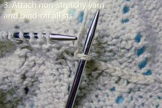 Tutorial - Reinforcing Shoulder Areas in top-down knitting