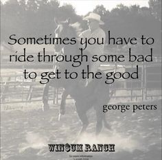 Dont give up! I have to keep this in mind when working with my current training mare.