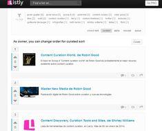 List.ly como plataforma para la content curation basada en listas | Los Content Curators