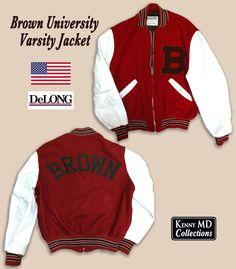 Brown University Varsity Jacket