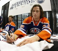 Ryan Jones, Edmonton Oilers. Amazed by the flow but in love with his funny.