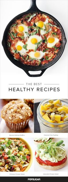 Pin for Later: 200+ Healthy Recipes For Every Meal of the Day