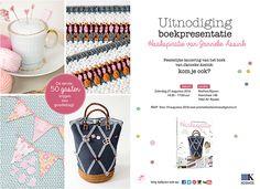 Vanaf 9 augustus verkrijgbaar: haakboek Haakspiratie Een boek vol haakpatronen, waarbij ik de haaktechniek combineer met naaien. Zo vind je een…