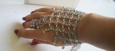 Authentic bracelet .SAHMERAN.  For precious ladies.Silver plated .