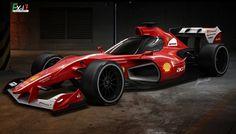 F1-Concept FX-i1: Ist das die Zukunft der Formel 1?