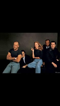 Pulp Fiction Crew back in the day....