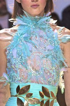 Zuhair Murad Couture S/S 2014. Admired by FalconFabrics.com.au