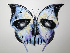 Skull X Butterfly