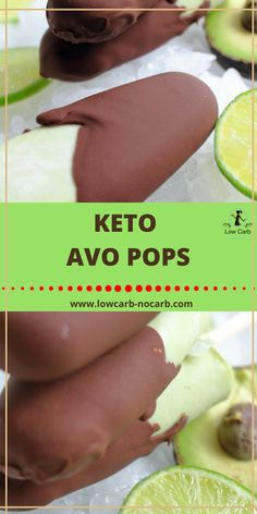 Keto Avocado Popsicles are the best and the healthiest option for those summer days. Low Carb Desserts, Low Carb Recipes, Healthy Recipes, Dessert Recipes, Healthy Foods, Easy Recipes, Healthy Meals For Kids, Kids Meals, Healthy Eating