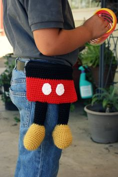Totally Mickey Tote Pattern By April Crochets Crafts Crochet