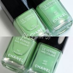 CHANEL Fraicheur Le Vernis – A CHANEL Jade dupe