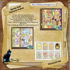 Bunny Hop Memory Game | ♥ • ❁ • BlueCat et ses cartes • ❁ • ♥