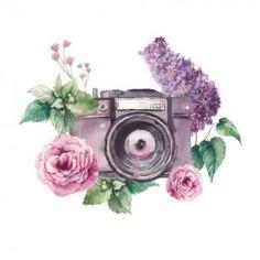 Картинки по запросу фотоаппарат в цветах