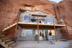 Homes Carved out of Bedrock!