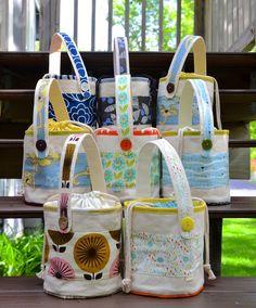 ikat bag: 2015 Lunch Buckets