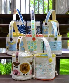 ikat bag: 2015 Lunch Buckets