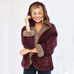 Get This Hooded Wool Coat now