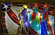 Pin by Tropical Glass Mosaics on Community Mosaic Board We Three Kings, Kings Day, Mosaic Art, Mosaic Glass, Mosaic Crafts, 3 Reyes, Mosaic Crosses, Caribbean Art, Stained Glass Christmas