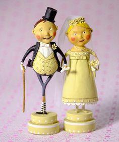 Loving this Wedding Belle & Lucky Fella Figurine Set on #zulily! #zulilyfinds