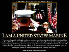 I am the United States Marine