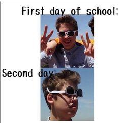 funny, school, magcon, magcon boys, matthew espinosa - image ...